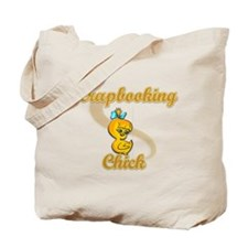 Scrapbooking Chick #2 Tote Bag