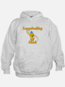Scrapbooking Chick #2 Hoodie