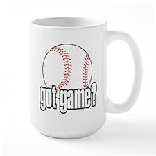 Got Game? Baseball Mug