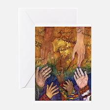 FAMILY TREASURES XMAS Greeting Card
