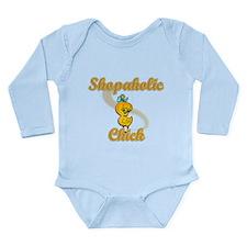 Shopaholic Chick #2 Long Sleeve Infant Bodysuit