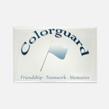 Colorguard: Friendship Teamwork Memories Rectangle