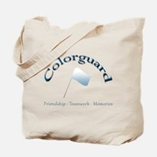 Colorguard: Friendship Teamwork Memories Tote Bag