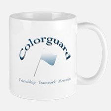 Colorguard: Friendship Teamwork Memories Mug