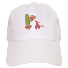 CACTUS FLOWER AND COYOTE Cap