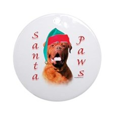 Dogue Paws Ornament (Round)