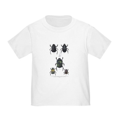 Beetle Insects (Front) Toddler T-Shirt