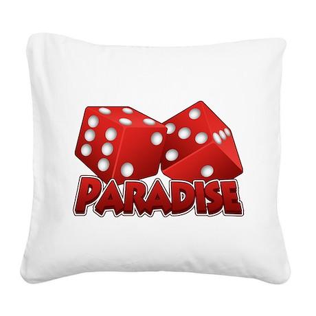 Paradise Square Canvas Pillow