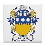 Latham Coat of Arms Tile Coaster