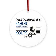 Kahler Grandparent Ornament (Round)
