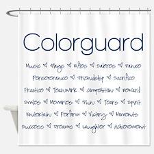 Colorguard Shower Curtain
