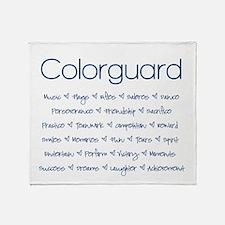 Colorguard Throw Blanket