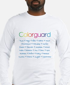 Colorguard Long Sleeve T-Shirt