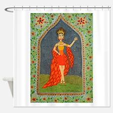 The Firebird (Fairy Tale Fashion 1) Shower Curtain
