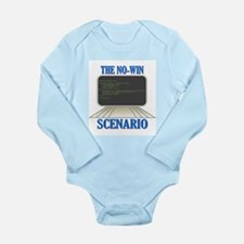 Kobayashi Maru Computer Program Long Sleeve Infant