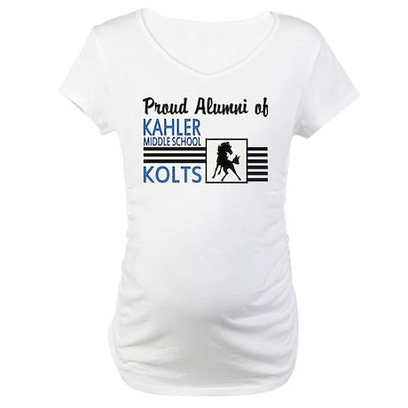 Kahler Alumni Maternity T-Shirt