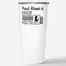 Kahler Alumni Stainless Steel Travel Mug