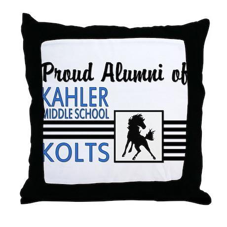 Kahler Alumni Throw Pillow