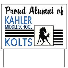 Kahler Alumni Yard Sign