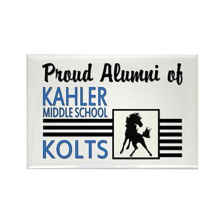 Kahler Alumni Rectangle Magnet