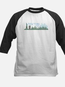 NYC Liberty Skyline lite Kids Baseball Jersey