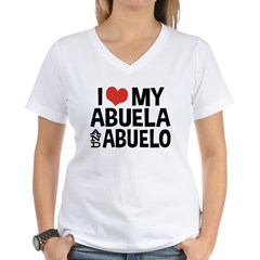 I Love My Abuela and Abuelo, Shirt