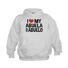 I Love My Abuela and Abuelo, Hoodie