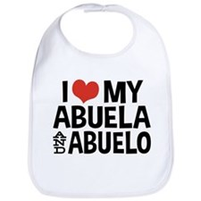 I Love My Abuela and Abuelo, Bib