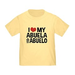 I Love My Abuela and Abuelo, T