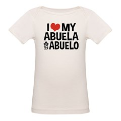 I Love My Abuela and Abuelo, Tee