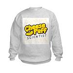 Cheese Puff Scientist Kids Sweatshirt