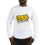 Cheese Puff Scientist Long Sleeve T-Shirt