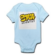 Cheese Puff Scientist Infant Bodysuit