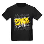 Cheese Puff Scientist Kids Dark T-Shirt