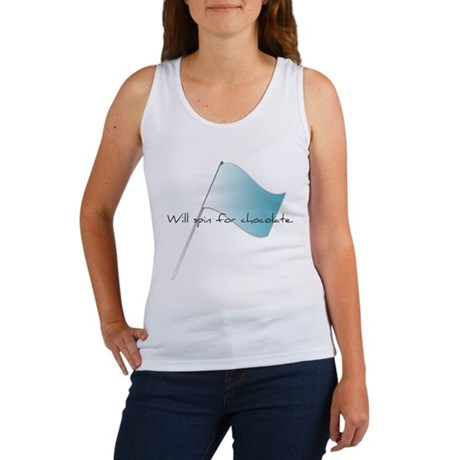 Colorguard Will spin for chocolate. Women's Tank T