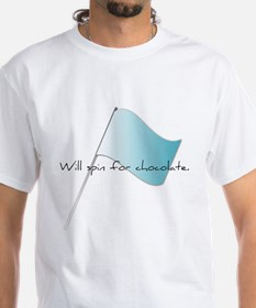 Colorguard Will spin for chocolate. Shirt