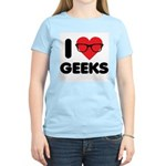 I Heart Geeks Women's Light T-Shirt
