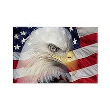 American Pride Rectangle Magnet (10 pack)