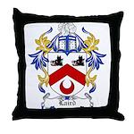 Laird Coat of Arms Throw Pillow
