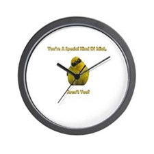 Special Kind of Idiot Wall Clock