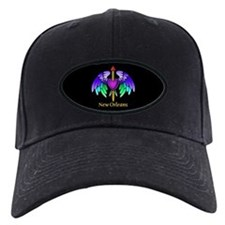 Flying Purple Heart Tattoo Baseball Hat