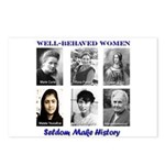 Well-Behaved Women Postcards (Package of 8)
