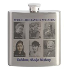 Well-Behaved Women Flask
