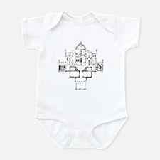 Andrea Palladio Villa Rotunda Infant Creeper