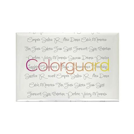 Colorguard Rectangle Magnet