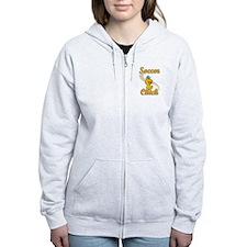 Soccer Chick #2 Zip Hoodie