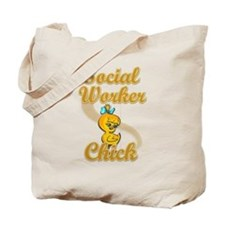 Social Worker Chick #2 Tote Bag