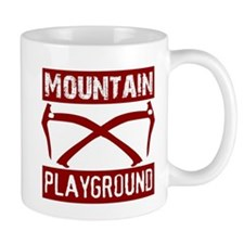Climbing T-shirt Mug