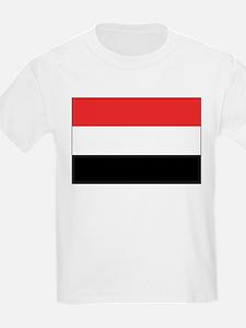 Yemen Flag Picture Kids T-Shirt