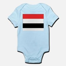 Yemen Flag Picture Infant Creeper